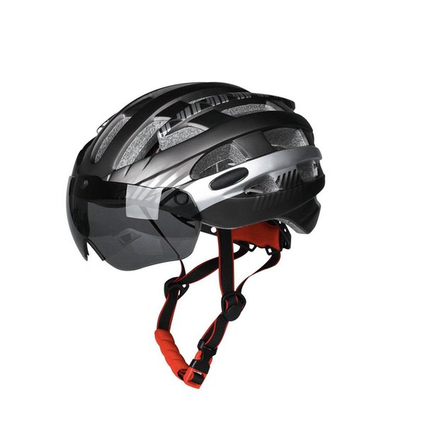 Mountain Cycling Helmet Glasses Goggles Women And Men Bicycle Equipment Safety Hat Detachable Magnetic Goggles Helmet