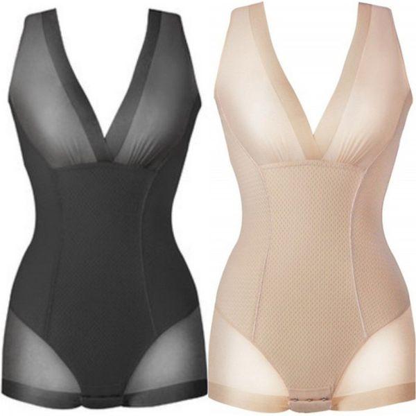 Women Thin Style Breathable Seamless Firm Tummy Control Full Dress Slip Body Waist Corsets Shaper Waist Trainer Shaperwear