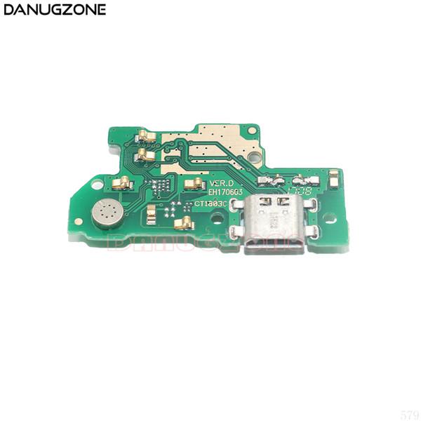 USB Ladeanschluss Dock-steckdose Jack-anschluss Ladeplatine Flex Kabel Mit Mikrofon Für Huawei Genießen 7 Plus 7 Plus