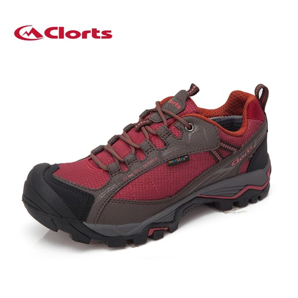 598cbb343729f Clorts Winter Men Waterproof zapatos de senderismo de cuero genuino  transpirables zapatos de trekking deporte antideslizante
