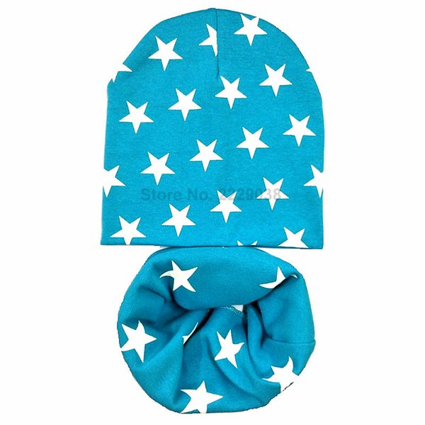Lake blue star set