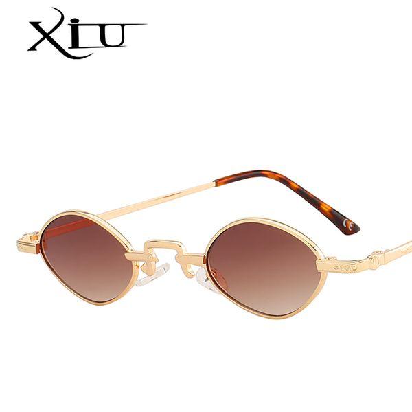 Großhandel kleine Runde Sonnenbrille Frauen Vintage Damen Sonnenbrille Marke Designer Retro Sonnenbrille-Frauen Eyewear Sunnies Frauen Shades