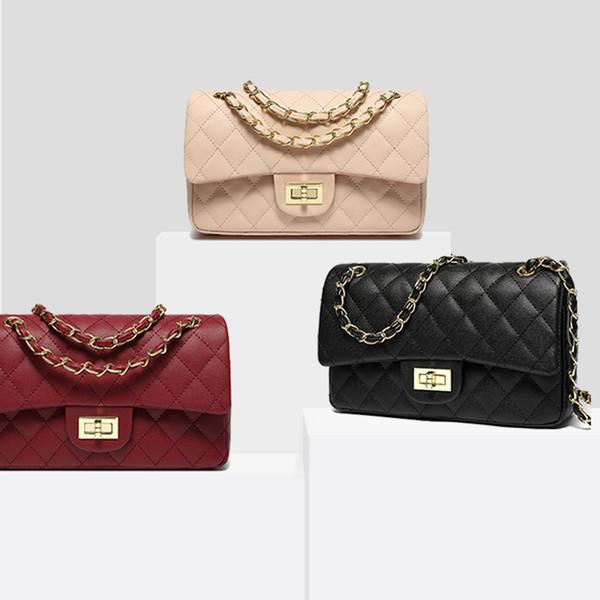 Aiuwo Luxury Crossbody Bags For Women Chain Shoulder Bag High Quality Black Handbags Girls Ladies Messenger Bag bolsas de mujer