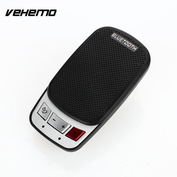 VEHEMO Altoparlante vivavoce per auto Vivavoce per auto Vivavoce Bluetooth Vivavoce per auto Trasmettitore wireless Bluetooth Mic