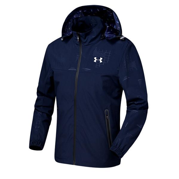 Fashion Spring Autumn Mens Jackets Hot Sale Outdoor Waterproof Windbreaker Casual Brand Designer Mens Coats Sweatshirt