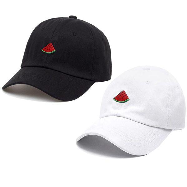 Baseball Cap Outdoor Men And Women With The Same Paragraph Watermelon Embroidery Baseball Cap Sunscreen Sun Hat