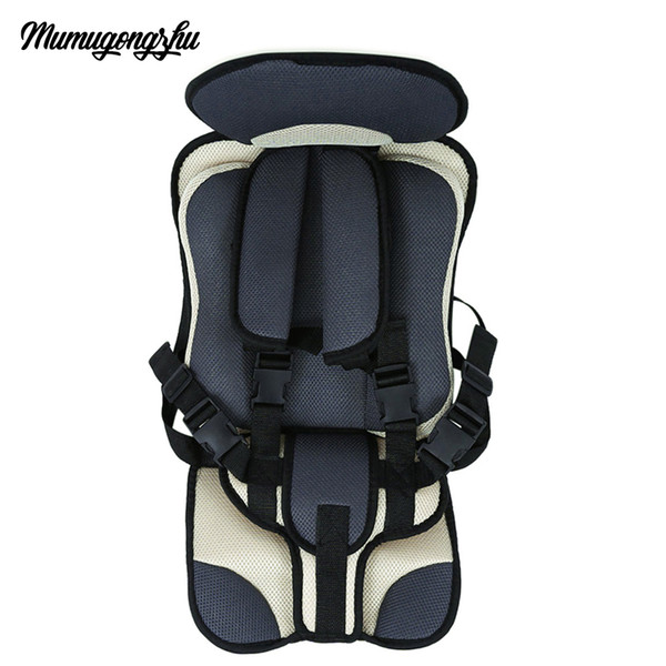 top popular Infant Safe Seat Portable Baby Safety Seat Children's Chairs Updated Version Thickening Sponge Kids Car Seats Children Car 2021