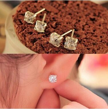 ej033 2018 Nouvelle mode exquise boucles d'oreilles en cristal coréen étoile féminine Lulu bijoux boucles d'oreilles en gros