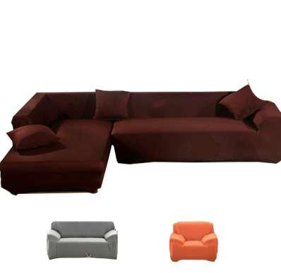 Terrific Covers On The Sofa Armchairs Couch Cover Fabric Soild Slipcover Elastic Corner Sofa Cover L Shaped Stretch Furniture Sofa Cover Recliner Chair Covers Dailytribune Chair Design For Home Dailytribuneorg