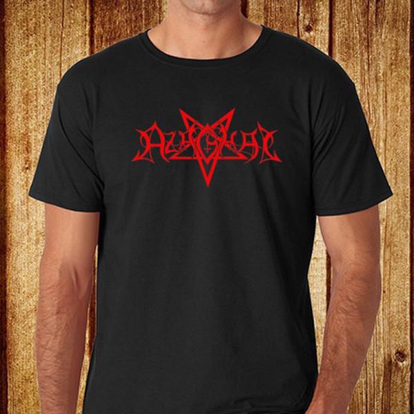 Nueva camiseta negra de hombre AZAGHAL Finland Metal Band talla S a 3XL - envío gratis