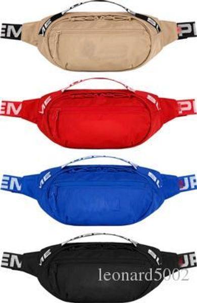 2018 18SS Waist Bag 3M 44th Sup Unisex Fanny Pack Fashion Waist Men Canvas Hip-Hop Belt Bag Men Messenger Bags 17AW Shoulder Bag 3M New