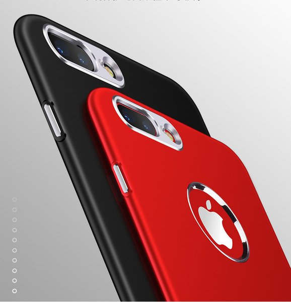Soft TPU Silicone Case Metallic paint button fuel injection TPU Phone Cases Cover For iPhone X 8 7 6 6S Plus 9/9Plus