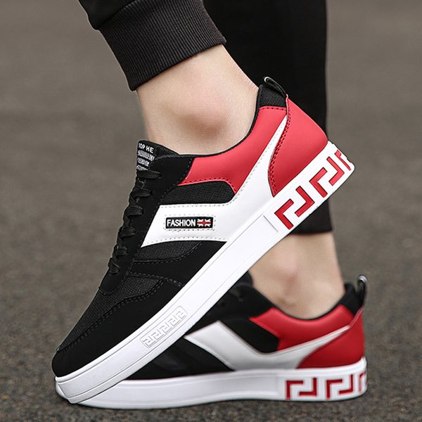 29bb20f919 QEJEVI Classic Canvas Low Top Skateboarding Shoes MEN White Anti-Slippery  Sneakser Rubber Sole Good