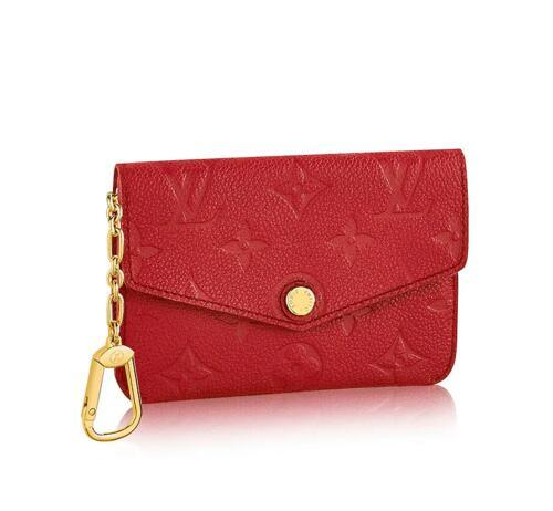 KEY POUCH M60634 2018 NEW WOMEN FASHION SHOWS EXOTIC LEATHER BAGS ICONIC BAGS CLUTCHES EVENING CHAIN WALLETS PURSE