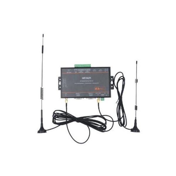CE 5 adet / paket Wifi modülü Seri Aygıt Sunucusu RS232 RS485 RS422 Ethernet Wifi 4G 3G GPRS Ağ Dönüştürücü HF2421 Bağlayıcı