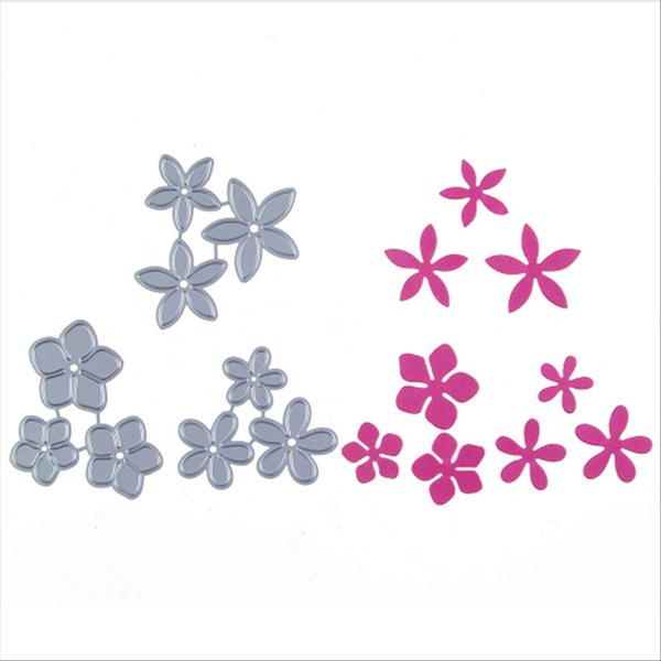 Die Cutting Dies 9pcs/set Flower for Cards Scrapbooking and Paper Crafts Embossing folder DIY paper craft Machines