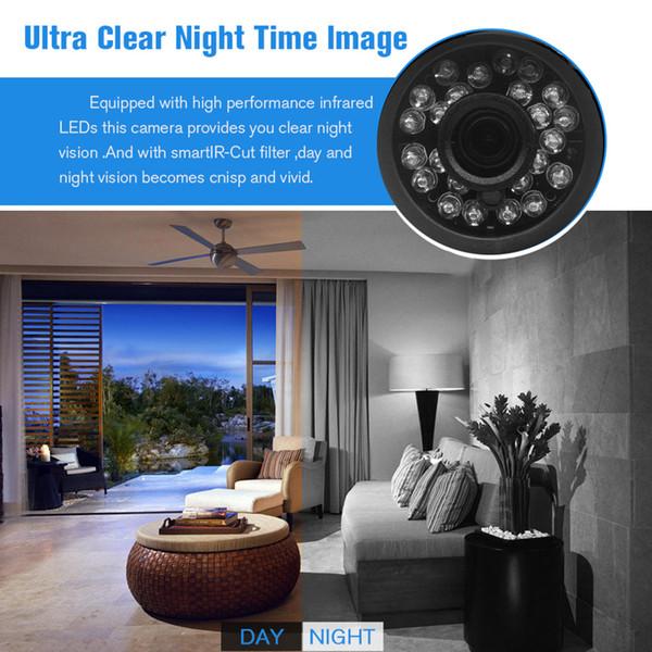 H.264 PLEIN HD 1080P 2,0 mégapixels caméra de sécurité IP HI3518E ABS caméra extérieure en plastique IP 1080P CC 12V 48V PoE en option