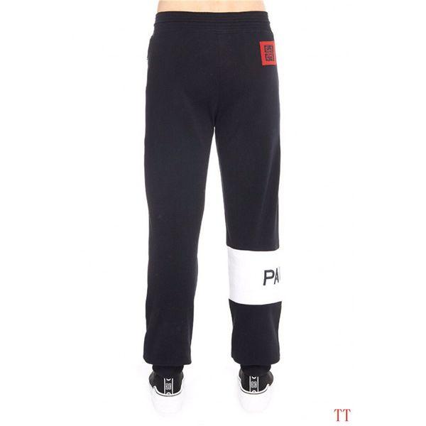 Tasarımcı Pantolon Moda Erkek Marka Jogger Pantolon En Kaliteli Rahat Parça Pantolon Yan Mektup İpli Pantolon Erkekler Marka Spor Ter Pantolon