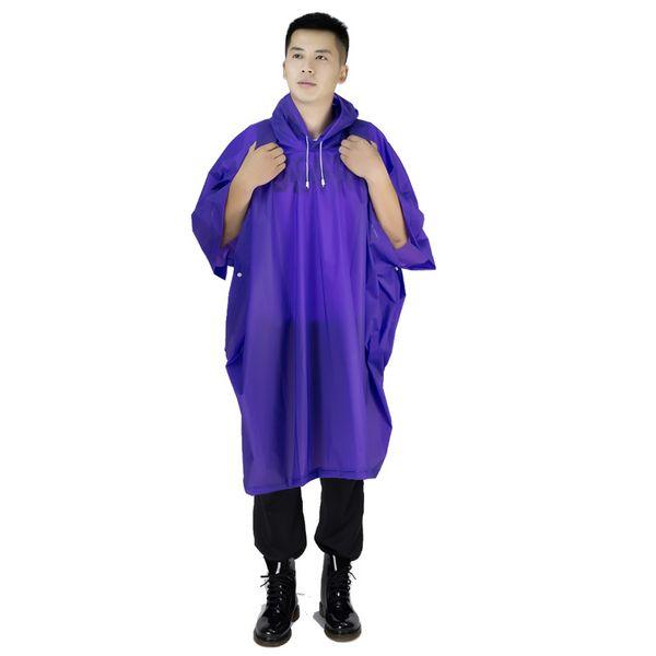 Universal Rainwear Men Transparent Raincoat Women Poncho Rain Coat Cover Impermeable Camping Capa de chuva Feminina chubasquero