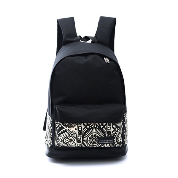 18d725e0b High Quality Women Backpack for School Teenagers Girls Vintage Stylish  School Bag Ladies Canvas Backpack Female
