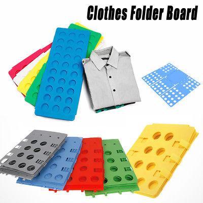 Clothes Folding fast Board Adult Kid Clothes Shirts Folder Fast Easy Laundry Home Organizer Magic Fast Folding Slacker Supplies FFA707 50PCS