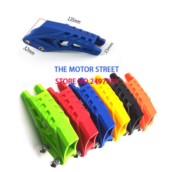 free shopping High Quality Motorcycle Chain Guard Guide Swingarm Guard For Chain Sets Parts Off road Motocross Pit Dirt Bike 2CN
