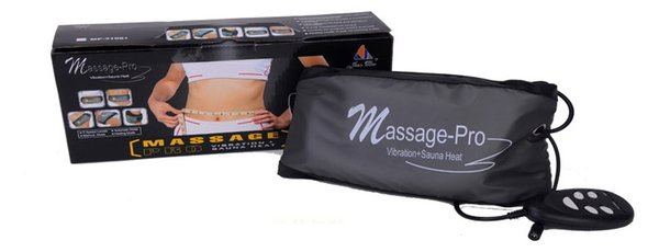 Slimming Care Massage.With HEATING Fat Burning Unction Vibration Burner Belts.Weight Loss Body Wrap Massager Belt