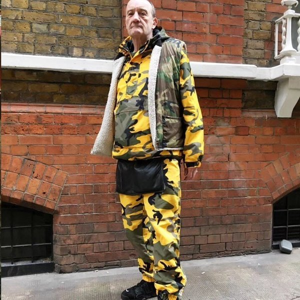 18SS SP Brooklyn Gore-Tex Black High Street Comfortable Loose Joggers Men And Women Couple Yellow Camouflage Pants S~XL HFSSKZ037