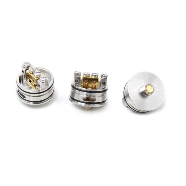 RDA Atomizer Stainless Steel Aluminum Material Support Both Single And Dual  Wire Vaporizer Fit 510 Mods Vape DHL Vaporfi Atomizer What E Cigarette