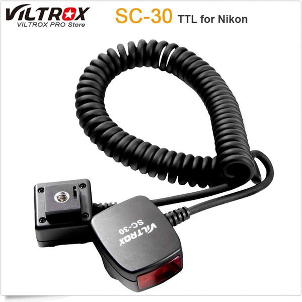 Viltrox SC-30 TTL Sync Cords Flash Light off-camera Focus Assist Cable for  DSLR Flash
