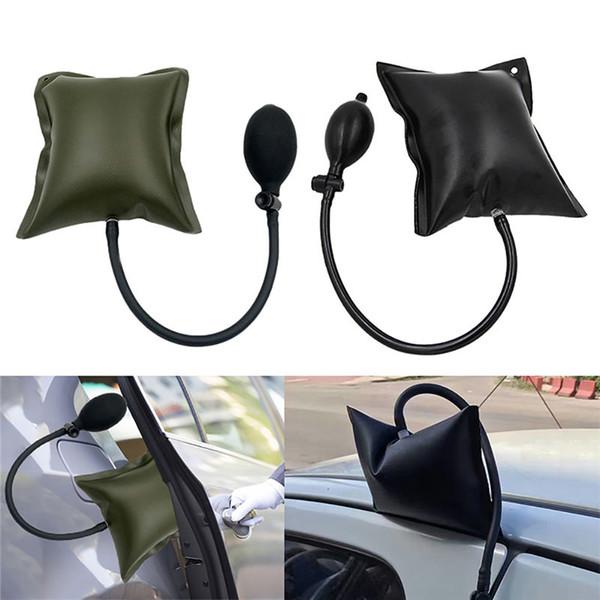 top popular Black Green Car Air Pump Wedge Auto Door Window Open Air Inflatable Pump Wedge Pad Entry Shim Repair Tools 2021