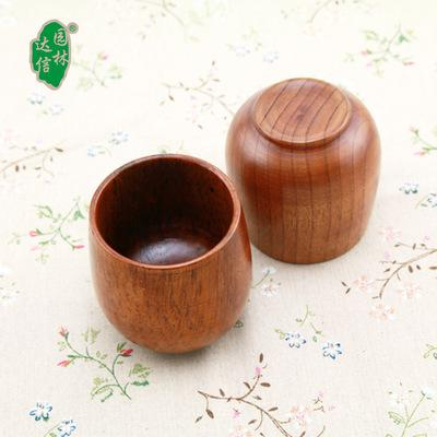 Japan Style Natural Jujube Wood Cup Primitive Handmade Natural Spruce Wooden Cup Breakfast Beer Milk Drinkware Green Tea Cup