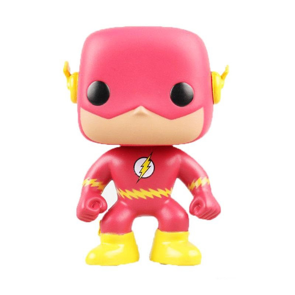 Funko POP Comics The Flash Vinyl Action Figure with Box #10 Toy Gift Doll Good Quality