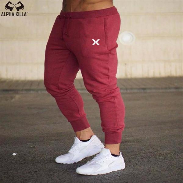 Men Joggers Autunno 2018 Marchi New Han Edition Pantaloni sportivi da uomo Tempo libero Coltivare i pantaloni Morality's Uomo Pantaloni