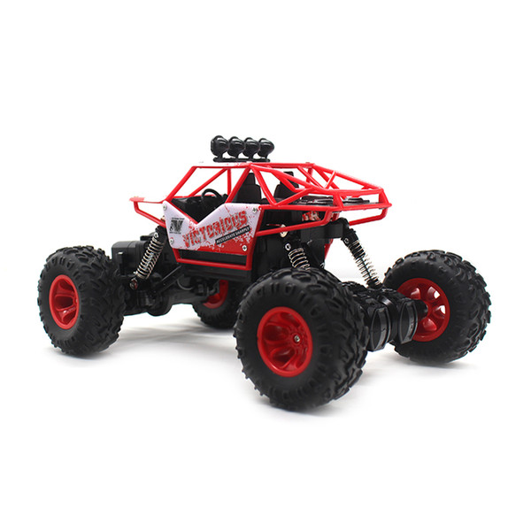 New Design 2.4g 4wd Electric Rc Car Rock Crawler Remote Control Toy Cars On The Radio Controlled 4x4 Drive Toys For Boys Kids Gift 6255