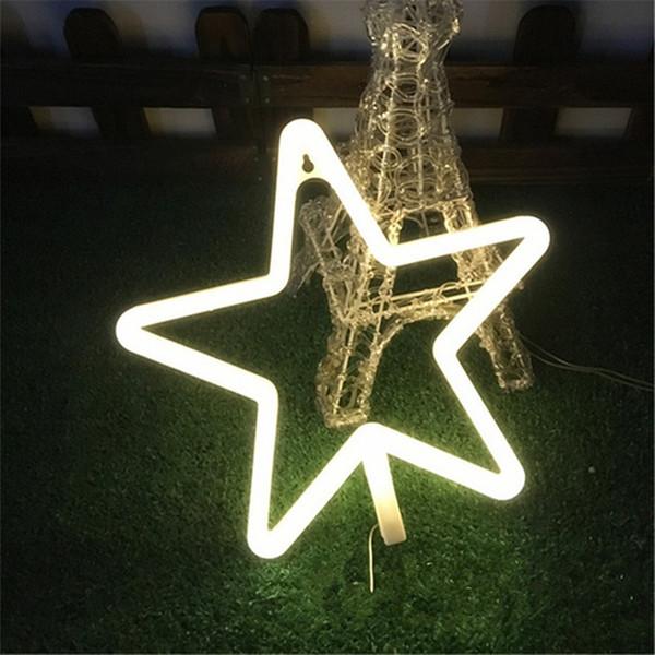 2018 Nouvelles lumières au néon modelant des ornements décoratifs flexibles lumières flamingo cactus foudre amour néon faible en plastique led lumières