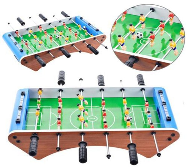 Classic Football Soccer Table Six-bar Portable Mini Table Football Game Set Balls Score Keeper For Adults Kids DDA256