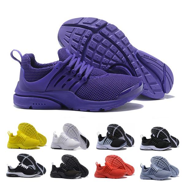 nike air presto Apressado prestos Correndo Homens Mulheres Sapatos Designer mens Presto Ultra BR QS Amarelo Preto Branco Athlitic shoes mens Formadores Tênis De Corrida