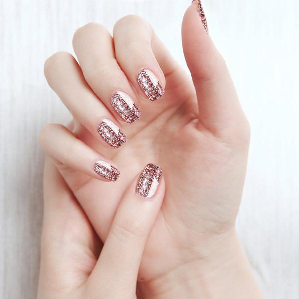 1PCS Decorations Platinum Nail Glitter Magic Platinum Effect Powders Nail Manicure for Gel Polish Pigment 2018 Products