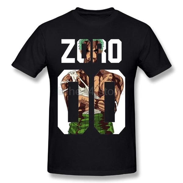 Impressionante Roronoa Zoro Man T Shirt Novo Menino Streetwear One piece T-Shirt Plus Size Para Homens Por Atacado