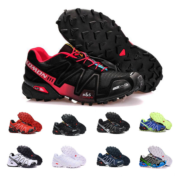 Cheap sale Speed Cross 4 CS IV Men Running Shoes Outdoor Walking Jogging Sneakers Athletic Shoes SpeedCross 4 sports Shoes eur 40-46