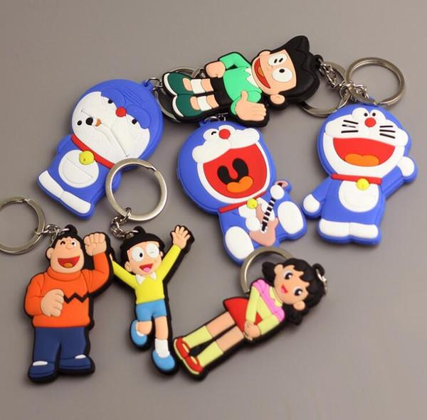 Nova Chaveiro Doraemon Japonês Dos Desenhos Animados Acessórios Crianças Filme Comic TV Anime