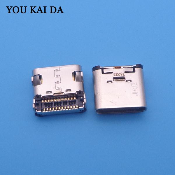 10pcs 12pin Mini Micro USB jack Socket Connector Type C Mobile Phone Charging charger port power Plug dock female for MeiTu M6