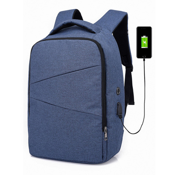 Laptop Travel School Bags Larger Volume Capacity Casual Lightweight Rucksack Computer Bag with USB Charging Port