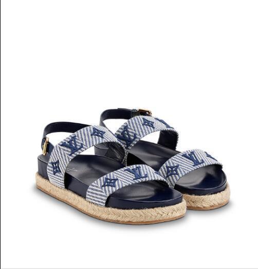 2e5034bb4 New Calfskin stitching special material hemp rope bottom sandals Women  Casual Handmade Walking Tennis Sandals Slippers Mules Slides Thongs