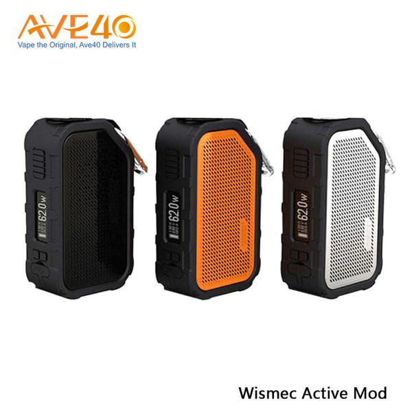 Wismec Active Mod 80W Altoparlante Bluetooth antiurto impermeabile con scatola attiva Mod Built-in 2100mAh Batteria amor NS Plus con serbatoio originale 100%