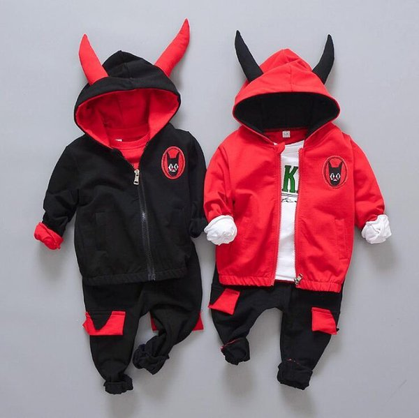 2018 Spring and autumn children's clothing Suit Boys Outfit bow tie three piece set casual pants Boy Suit Toddler Newborn Set Baby Wear