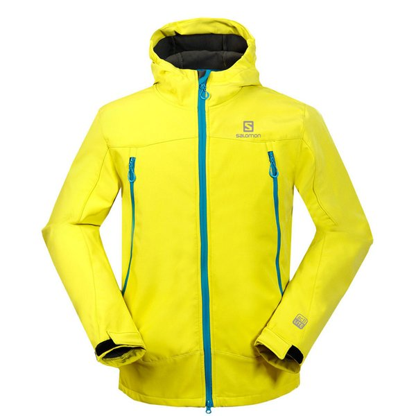 2018 Winter Outdoor Jacket Mens Sports Windproof Coat Windbreaker Softshell Warm Jacket