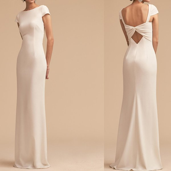 Sweet Backless Cheap Dress Evening Dresses Sexy Party Dress Scoop Sleeveless Sweep Train Red Carpet Dress Prom Dresses