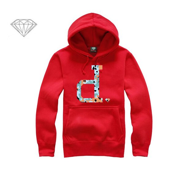 Diamond Supply hoodie for men free shipping diamonds hoodies hip hop brand new 2018 sweatshirt men's clothes pullover M03